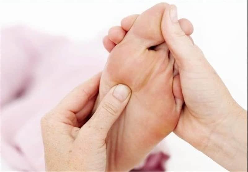ماساژ درمانی 6 نقطه ای پا
